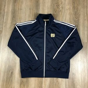 Adidas Notre Dame Blue Women's Pullover Sweater L